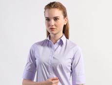 女士经典款弹力长袖衬衫G594F