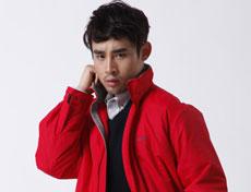 男士塔丝隆防风防雨棉夹克定制G222M
