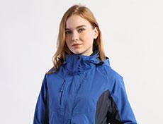 女士两件套防风防雨冲锋衣G283F
